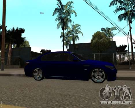 BMW M5 E60 v1.0 para GTA San Andreas left