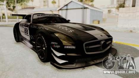 Mercedes-Benz SLS AMG GT3 PJ2 para visión interna GTA San Andreas