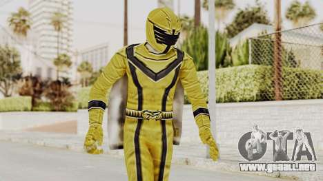 Power Rangers Mystic Force - Yellow para GTA San Andreas