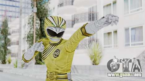 Power Rangers Wild Force - Yellow para GTA San Andreas