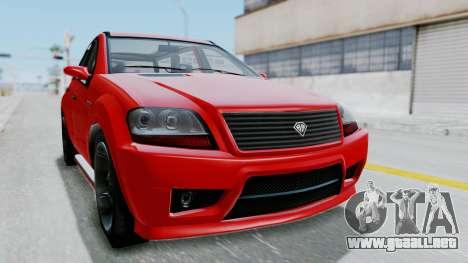 GTA 5 Benefactor Serrano para GTA San Andreas