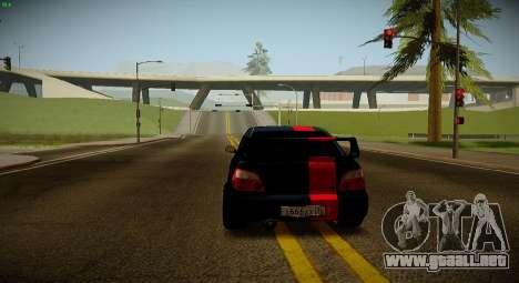 Subaru Impreza WRX STi Bestia Negra para la visión correcta GTA San Andreas