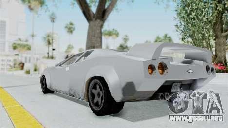 GTA Vice City - Infernus para GTA San Andreas left