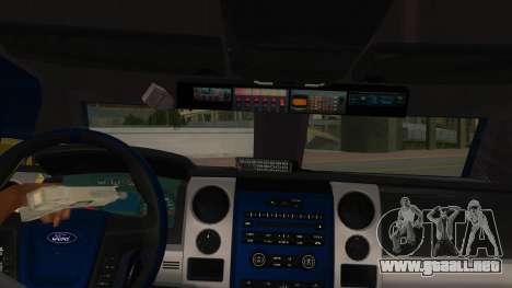 Black Scorpion Police para visión interna GTA San Andreas