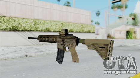 HK416A5 Assault Rifle para GTA San Andreas segunda pantalla