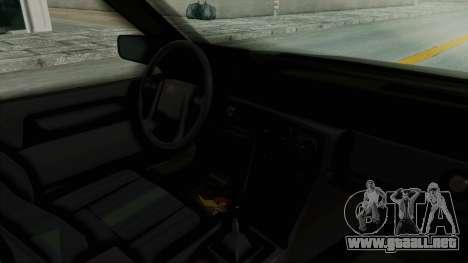 Volvo 740 para visión interna GTA San Andreas