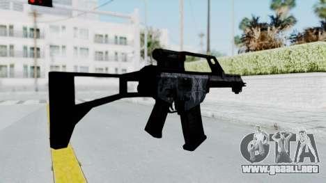 G36E Valkyrie Paintjob para GTA San Andreas tercera pantalla