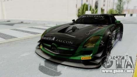 Mercedes-Benz SLS AMG GT3 PJ7 para vista lateral GTA San Andreas