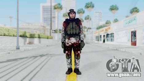 Black Mesa - Wounded HECU Marine Medic v1 para GTA San Andreas segunda pantalla