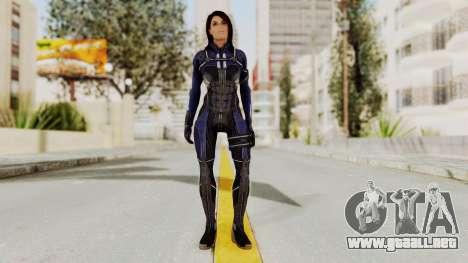 Mass Effect 3 Ashley Williams Ashes DLC Armor para GTA San Andreas segunda pantalla