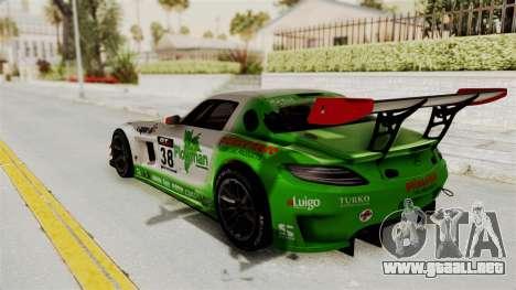 Mercedes-Benz SLS AMG GT3 PJ4 para visión interna GTA San Andreas