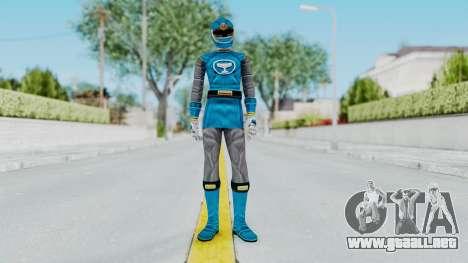 Power Rangers Ninja Storm - Blue para GTA San Andreas segunda pantalla