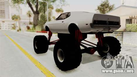 Ford Mustang 1971 Monster Truck para GTA San Andreas left