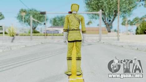 Power Rangers Wild Force - Yellow para GTA San Andreas tercera pantalla