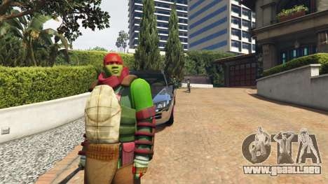 GTA 5 Teenage mutant ninja turtles