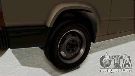 Volvo 740 para GTA San Andreas vista hacia atrás