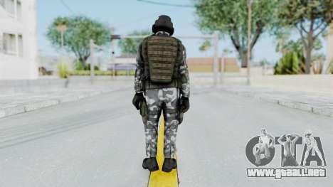 Black Mesa - HECU Marine Medic v2 para GTA San Andreas tercera pantalla
