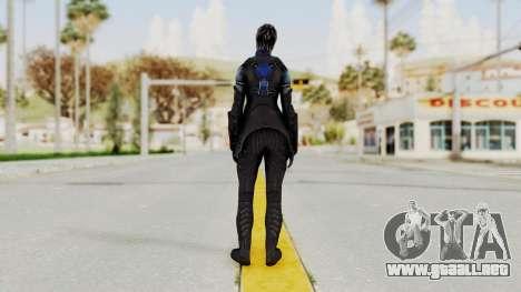Mass Effect 3 Liara DLC Alt Costume para GTA San Andreas tercera pantalla