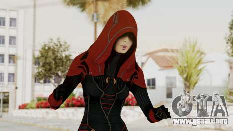 Mass Effect 2 Kasumi Red para GTA San Andreas