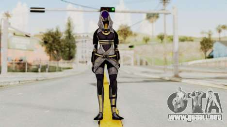 Mass Effect 3 Tali Zorah nar Rayya para GTA San Andreas segunda pantalla