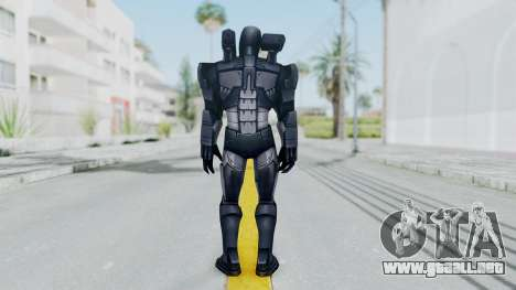 Marvel Future Fight - War Machine para GTA San Andreas tercera pantalla