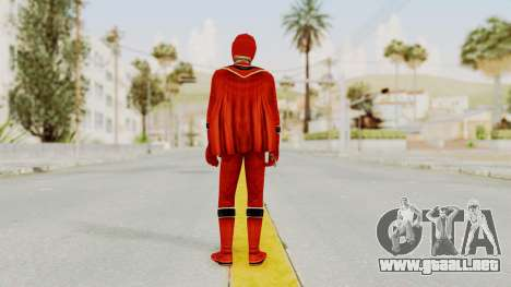 Power Rangers Mystic Force - Red para GTA San Andreas tercera pantalla