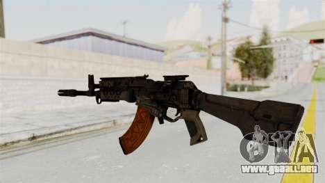 Black Ops 3 - KN-44 para GTA San Andreas segunda pantalla