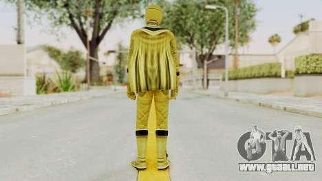 Power Rangers Mystic Force - Yellow para GTA San Andreas tercera pantalla