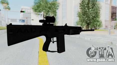 AA-12 para GTA San Andreas segunda pantalla