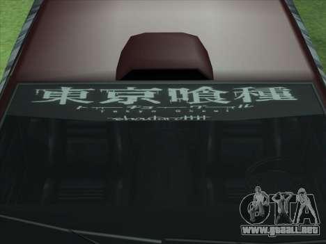 The Ghoul Elegy Vinyl (Beta) para GTA San Andreas vista hacia atrás