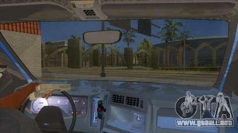 Ford Sierra 1.6 GL Updated para visión interna GTA San Andreas