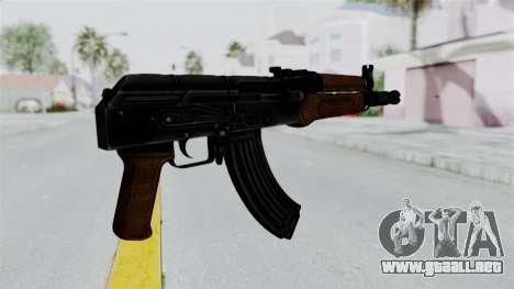 AK-47U para GTA San Andreas tercera pantalla