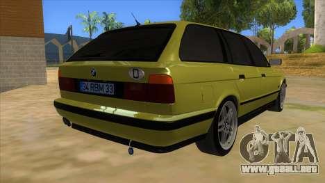 BMW M5 E34 Touring para la visión correcta GTA San Andreas