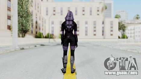 Mass Effect 3 Tali Zorah Vas Normandy para GTA San Andreas tercera pantalla