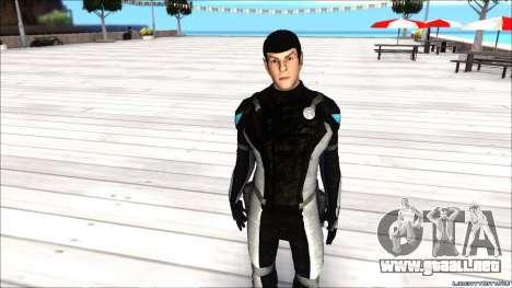 Star Trek Spock para GTA San Andreas