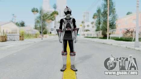 Power Rangers RPM - Silver para GTA San Andreas segunda pantalla