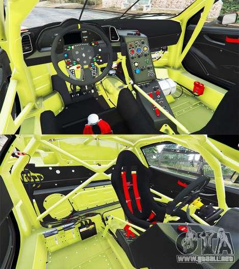 GTA 5 Ferrari 458 Italia GT2 vista lateral trasera derecha