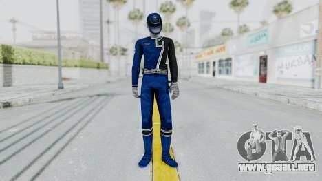 Power Rangers S.P.D - Blue para GTA San Andreas segunda pantalla