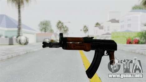 AK-47U para GTA San Andreas segunda pantalla