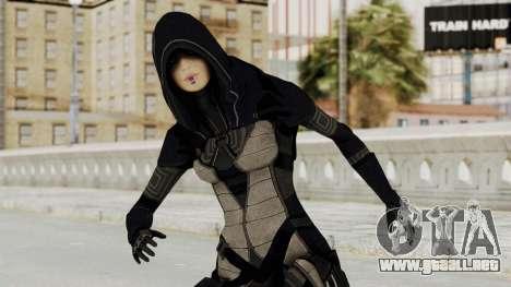 Mass Effect 2 Kasumi Black para GTA San Andreas