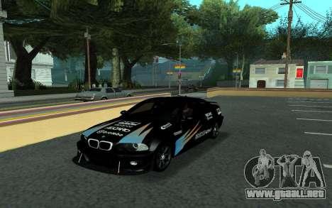 BMW M3 E46 Tunable para vista lateral GTA San Andreas
