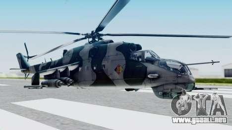 Mi-24V GDR Air Force 45 para GTA San Andreas