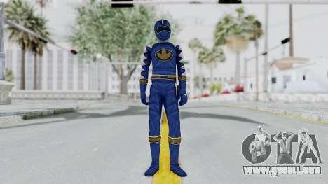 Power Rangers Dino Thunder - Blue para GTA San Andreas segunda pantalla