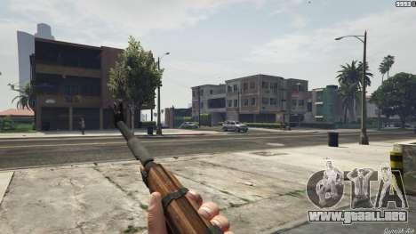 GTA 5 Bioshock Infinite - Carbine Rifle tercera captura de pantalla