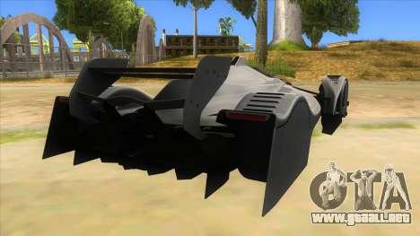RedBull X2010 para la visión correcta GTA San Andreas