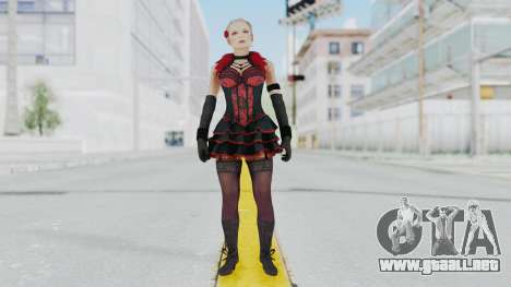 Black Ops 3 - Jessica Rose para GTA San Andreas segunda pantalla