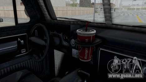 GTA 5 Bravado Duneloader Cleaner IVF para visión interna GTA San Andreas