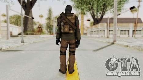 CoD AW KVA LMG para GTA San Andreas tercera pantalla