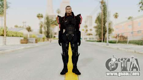Mass Effect 3 Shepard N7 Destroyer Armor para GTA San Andreas segunda pantalla