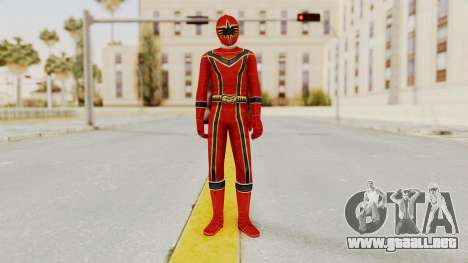 Power Rangers Mystic Force - Red para GTA San Andreas segunda pantalla